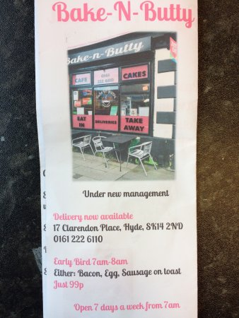 Hyde, UK: Bake-N-Butty