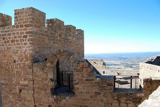 Aragon, İspanya: Vue sur la vallée