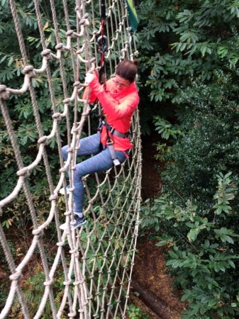 Goudhurst, UK: She Tarzan!!!