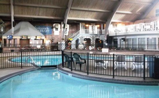 Burlington, Айова: Zone piscine intérieure