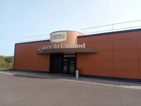 Isigny-sur-Mer, Francia: La Galerie du Caramel