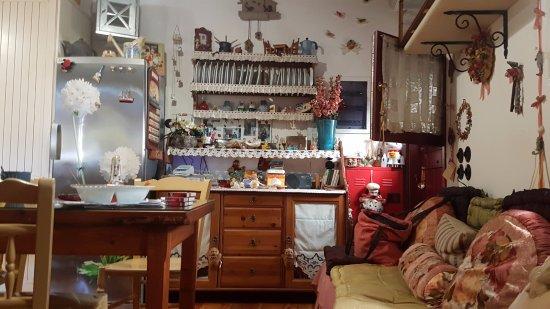 Lefkes, Grecia: Die Küche