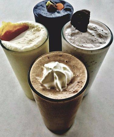 Jeffreys Bay, South Africa: Gourmet milkshakes
