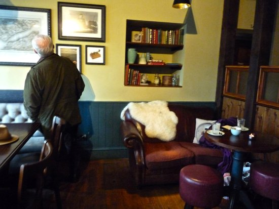 Homely hygge at The Mayflower Hotel's pub, Lymington