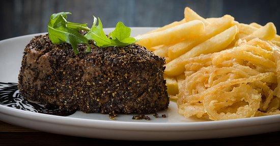 Shelly Beach, Sør-Afrika: Spur Pepper Steak