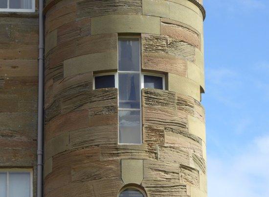 Maybole, UK: Interesting window @ Culzean