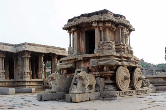 Hotel Malligi: these are the Hampi photos of Vittal Temple