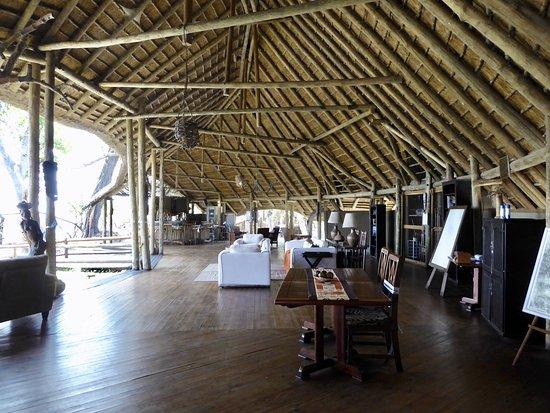 Pom Pom Camp: Lounge/bar area