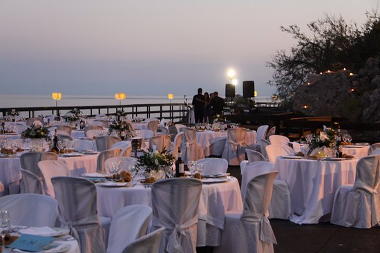 Sant' Alessio Siculo, İtalya: Banqueting - Piattaforma sul mare