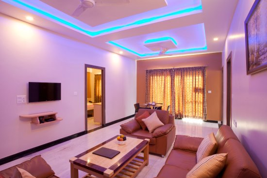 Panchvati Comforts: Sapphire Suite-2BHK-Living Room