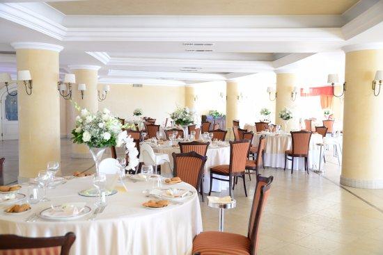 Sant' Alessio Siculo, Itália: Banqueting - Sala Bouganvillea
