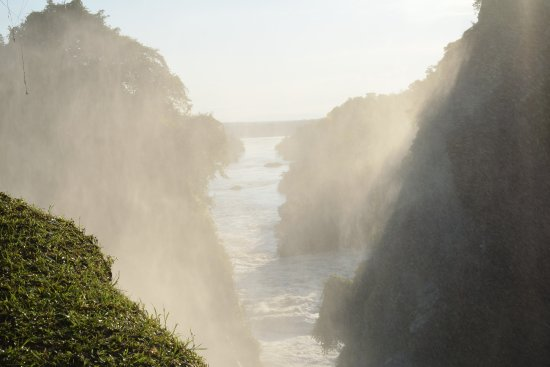 Murchison Falls National Park, Uganda: Caída del Nilo
