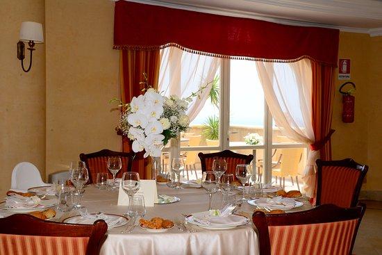 Sant' Alessio Siculo, İtalya: Banqueting - Sala Bouganvillea