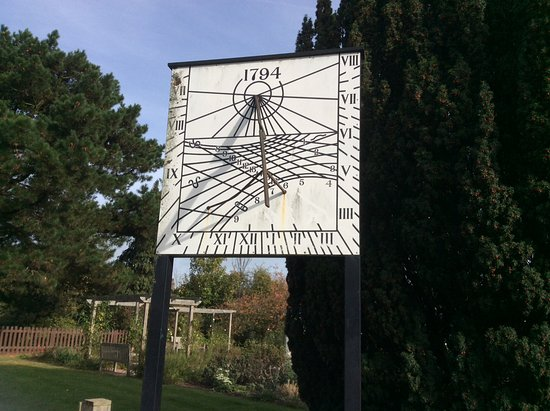 Dartford, UK: The old sundial