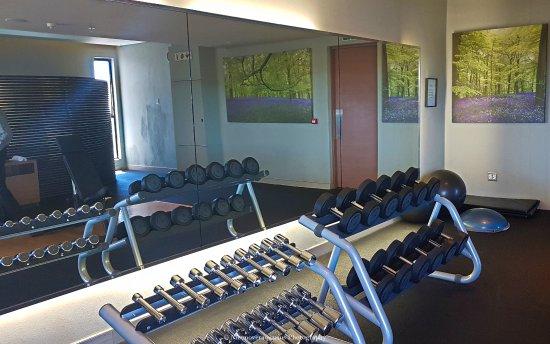 Southern Sun Hyde Park Sandton: Gym inside hotel