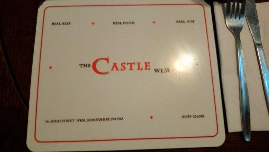 Wem, UK: The Castle