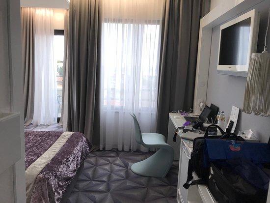 Hotel Luxe: Interior.