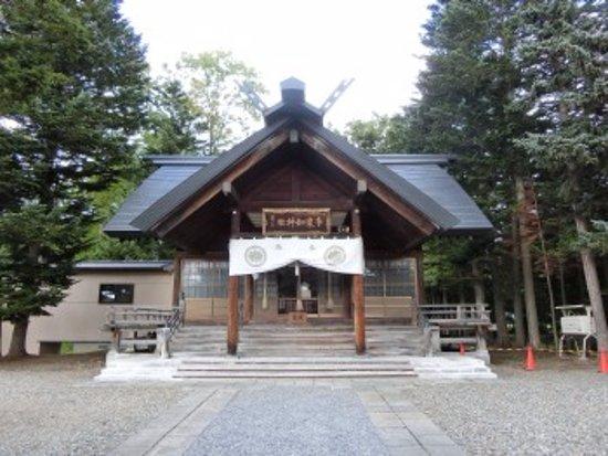 Mikasa, Japan: 社殿の様子