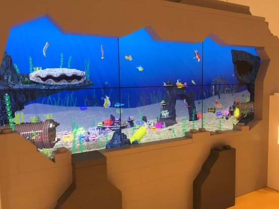 Virtual Fish Tank Picture Of Lego House Billund Tripadvisor