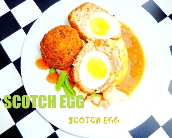 Mohali, India: SCOTCH EGG -YOU CANT BUY HAPPINESS,BUT YOU CAN BUY SCOTCH EGG THAT'S THE KIND OF SAME THING
