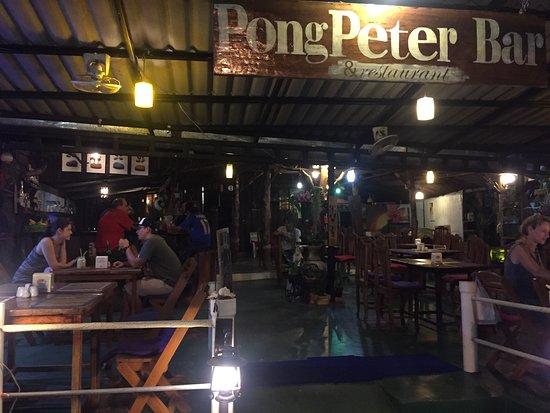 pong peter bar restaurant khao lak restaurant bewertungen telefonnummer fotos tripadvisor. Black Bedroom Furniture Sets. Home Design Ideas