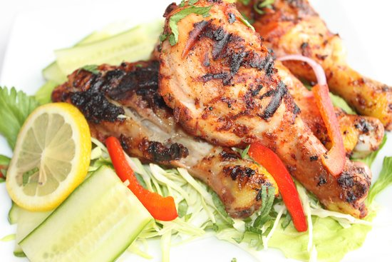 Mohali, India: roasted chicken