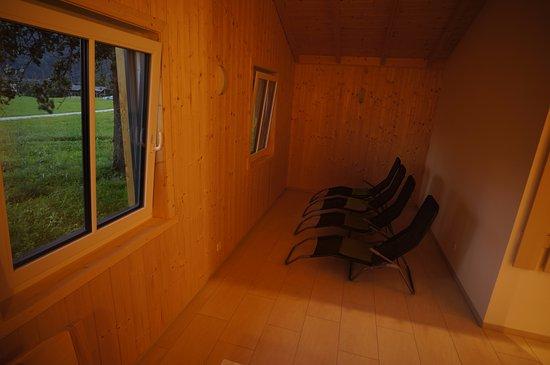 Hermagor, Austria: Sauna Haus