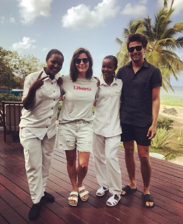The Residence Zanzibar: Us with Ades and Aziza