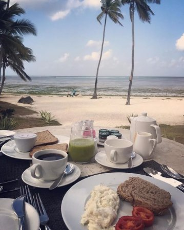 The Residence Zanzibar: breakfast with a view