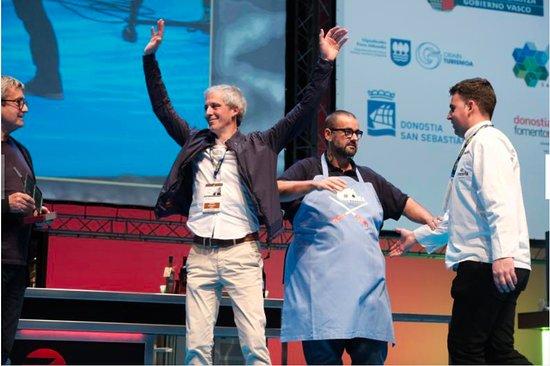 Zestoa, Spanien: Premio al mejor parrillero 2017 en San Sebastian gastronómica, restaurante Araneta