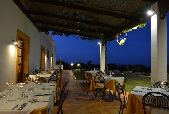 Terrazza Ristorante con vista sul golfo - Picture of Tenute Plaia ...