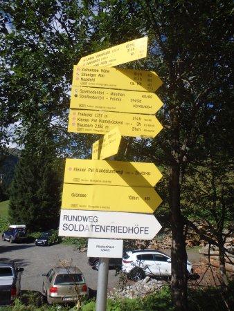 Kötschach-Mauthen, Autriche : Le partenze per i sentieri