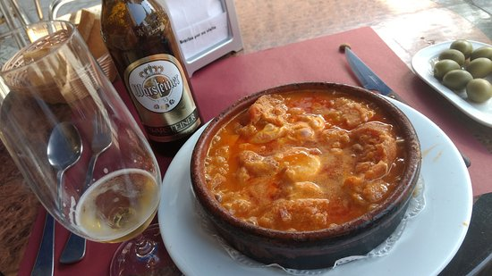 Sopa castellana picture of el candil cercedilla - Sopa castellana casera ...