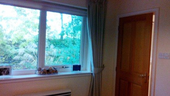 Tarbert, UK: Porte de la salle de bain