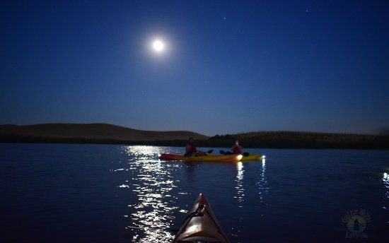 Suisun City, Kalifornia: Popular Full Moon Paddle