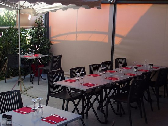 Les Milles, Frankrike: terrasse 2