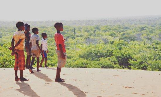 Vilanculos, Mocambique: Kids