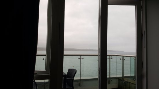 Ardmore, Ireland: Our beautiful, misty view