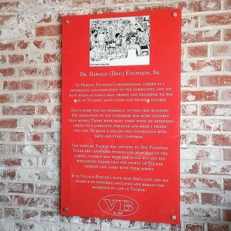 ทักเกอร์, จอร์เจีย: Tribute to Doc Fountain at VB Tucker