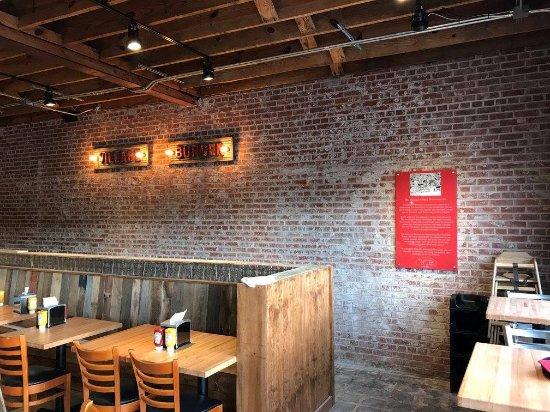 Brick Wall at VB Tucker