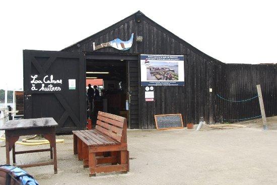 Baden, France: La cabane à huitres
