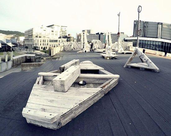 City to Sea Bridge: Woodworks