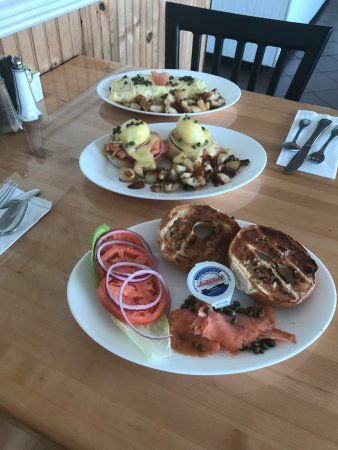 Portsmouth, RI: All Three Lox Breakfast Specials