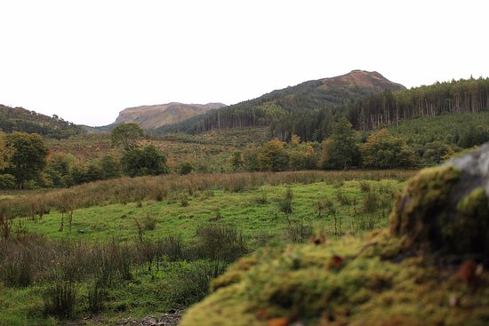 Balmacara, UK: The hills around the villiage