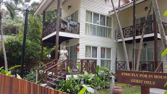 Manukan Island, Malasia: Beachfront suite