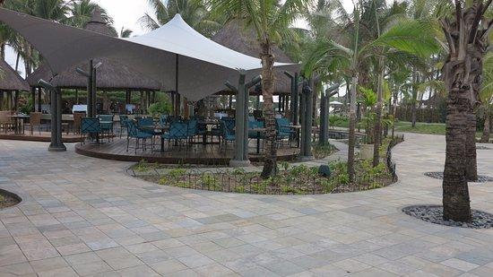 """La Pirogue Mauritius: kleiner Teil des Restaurants """"Wolmar"""""""