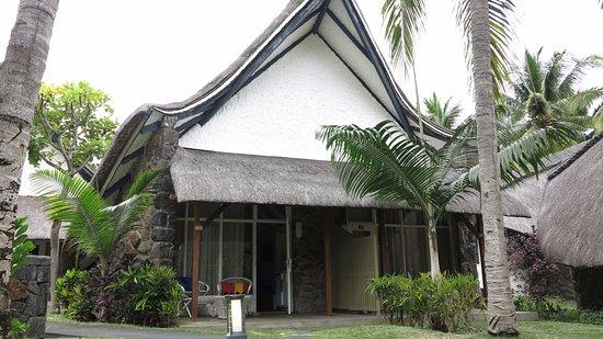 """La Pirogue Mauritius: Bungalow """"Garden-View"""" von aussen"""