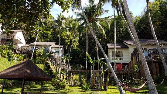 Manukan Island, Malasia: Hilltop chalets