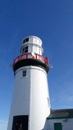 Galley Head Lightkeeper's House: The light