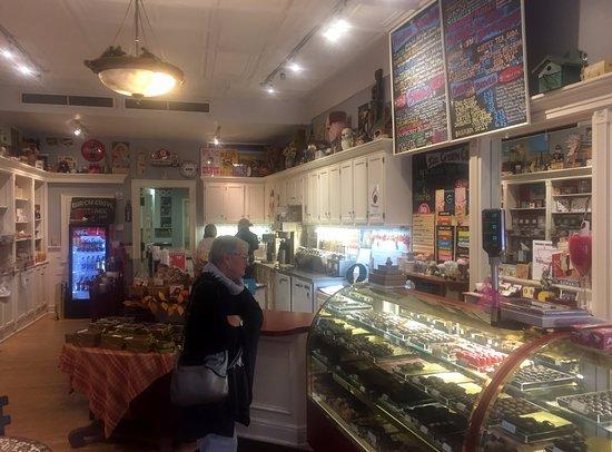 Inside Maxwells Chocolates & Ice Cream, Hamilton NY